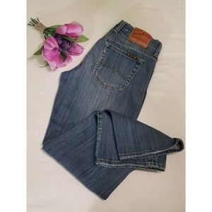 Lucky Brand Sweet N' Low Crop Jeans